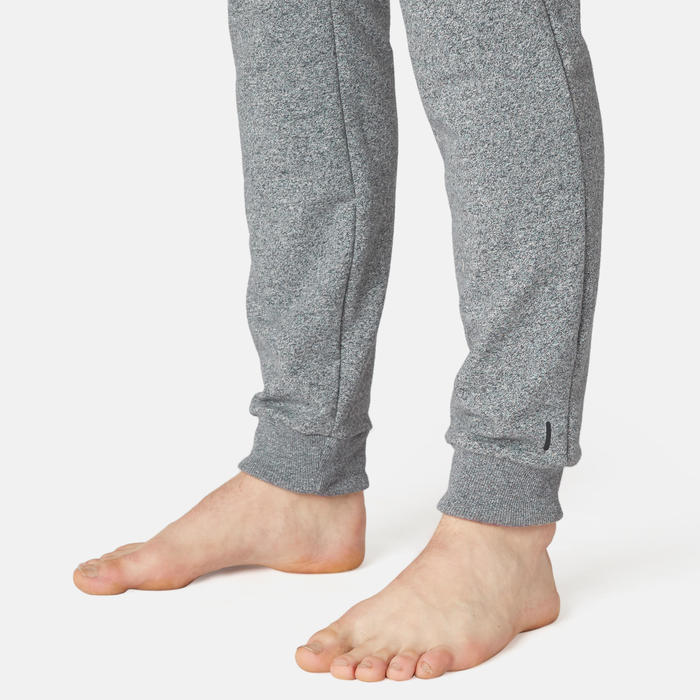 Pantalon Training Homme Slim 500 Gris Clair