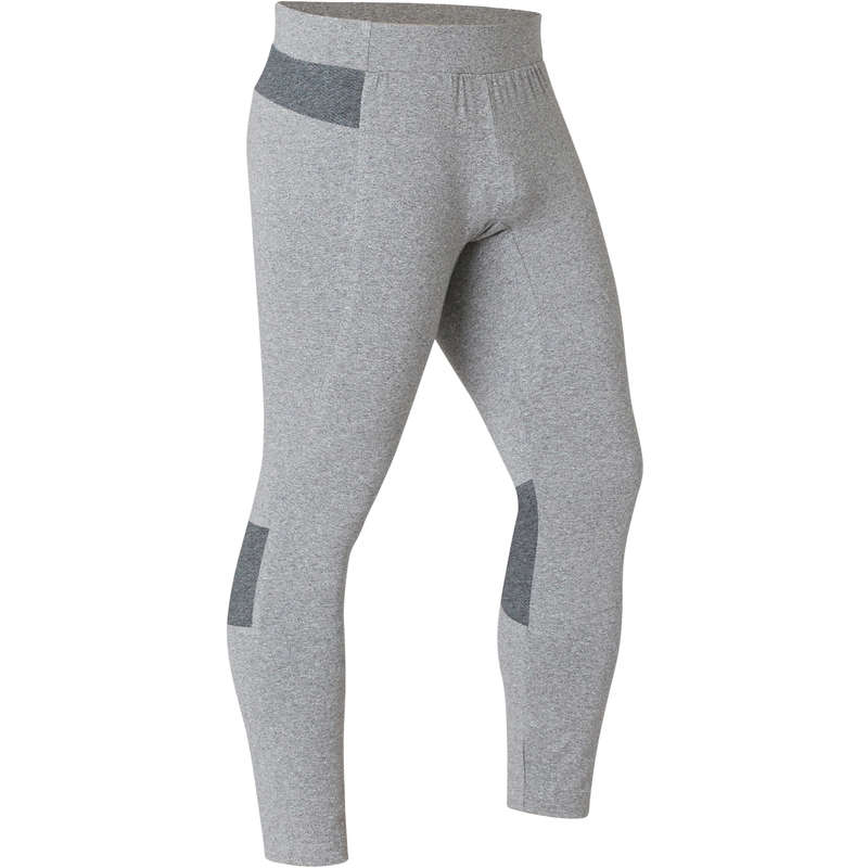 MAN GYM, PILATES APPAREL Fitness and Gym - Men's Gym 7/8 Leggings 900 DOMYOS - Gym Activewear