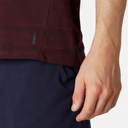 T-Shirt 520 Homme Bordeaux avec Motif