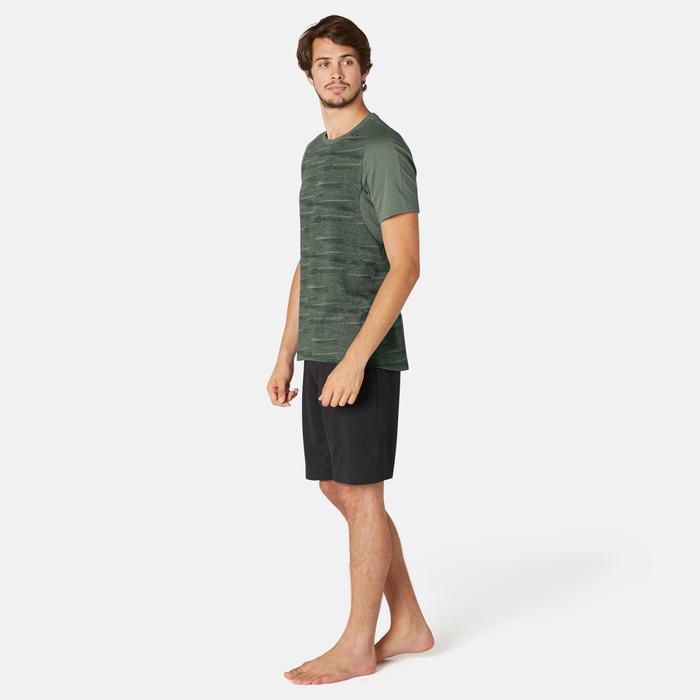 T-Shirt 520 Homme Kaki avec Motif