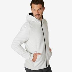 Vest voor work-out heren 540 spacer beige
