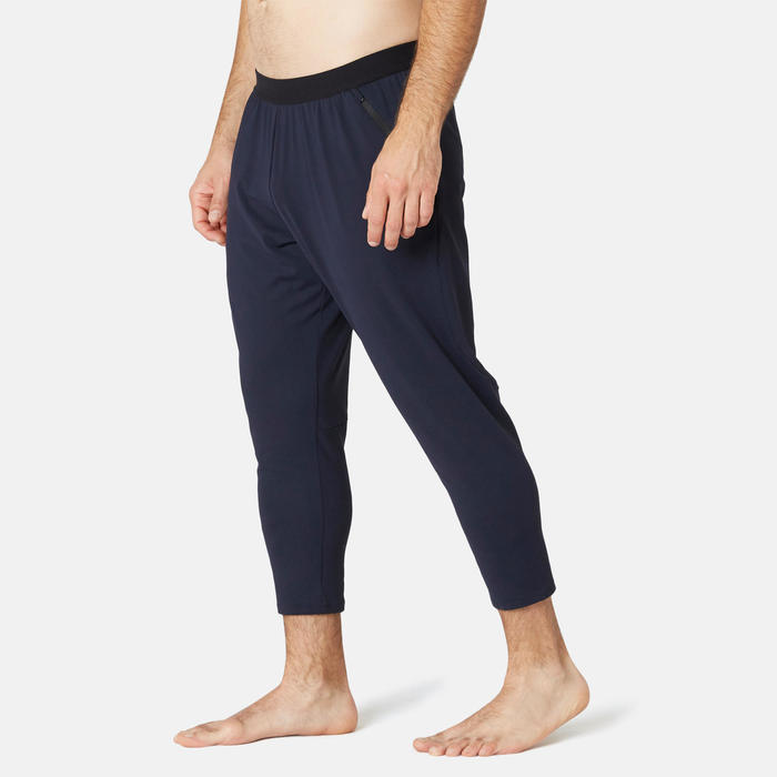 Pantalon Training 7/8 Homme Slim 560 Bleu Foncé
