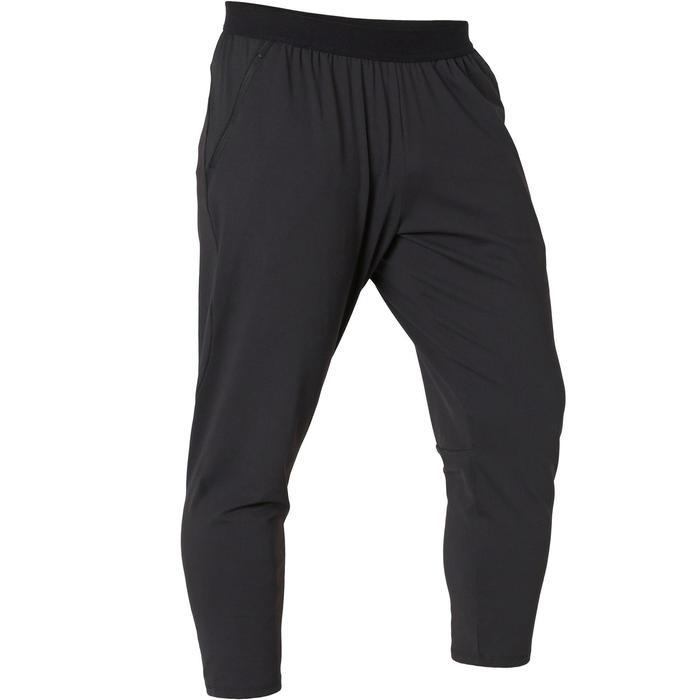 Pantalon Training 7/8 Homme Slim 560 Noir