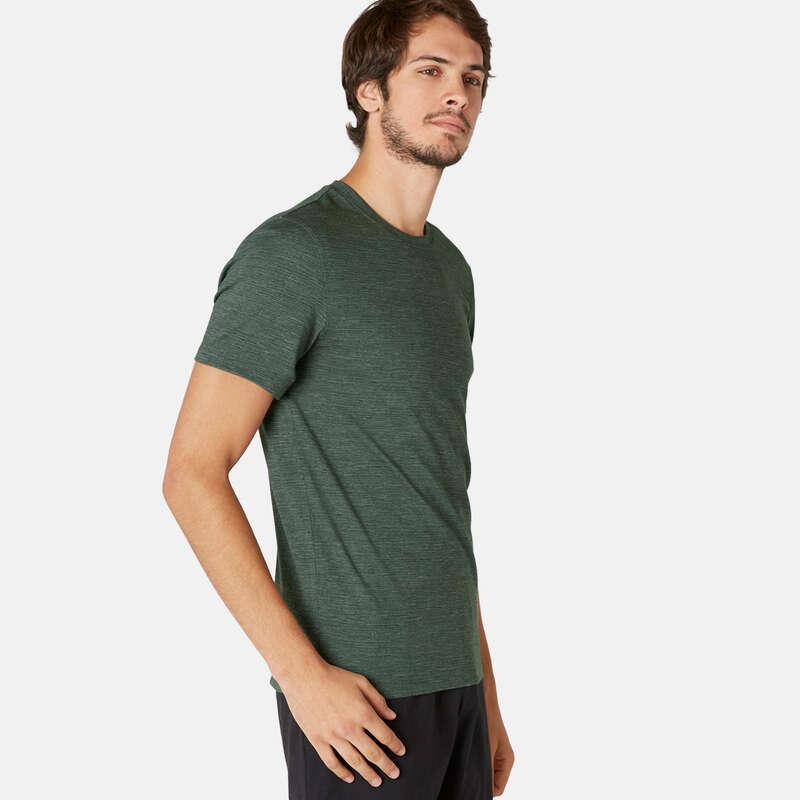T-SHIRTS E CALÇÕES HOMEM - T-shirt Ginástica Homem 500 NYAMBA