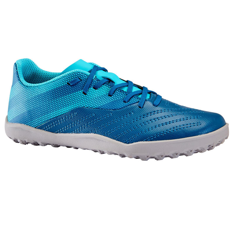 Lace-Up Football Boots Agility 140 HG - Turquoise
