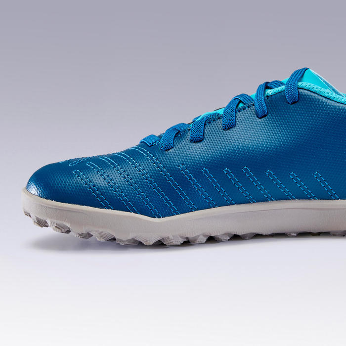 Chaussure de football AGILITY140 HG Lacets Turquoise