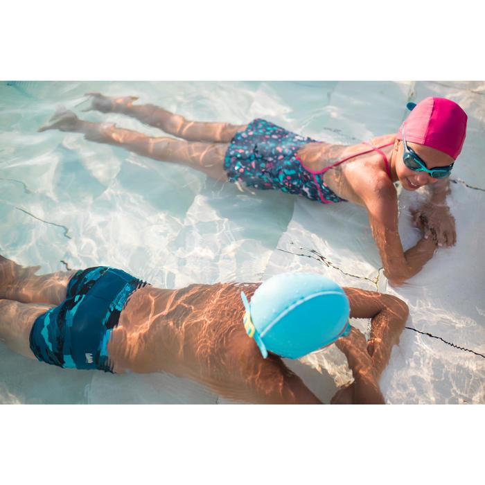 Badpak voor meisjes Riana Dress All Playa marineblauw