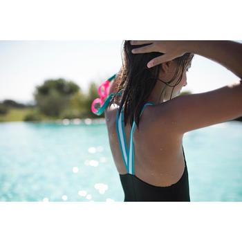 Maillot de bain de natation fille une pièce vega NBJI noir