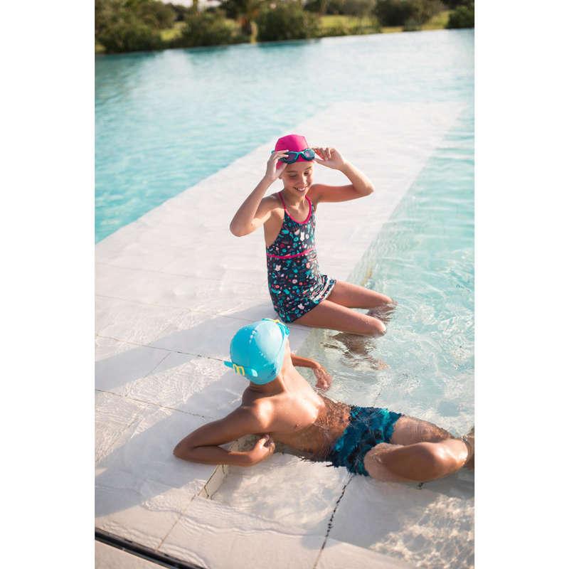 MÖSSOR OCH SKYDD FÖR SIMNING Simning - BADMÖSSA i mesh ROSA NABAIJI - Simning