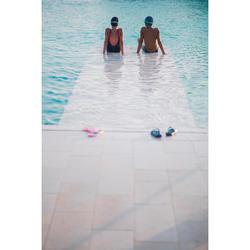 Teenslippers voor zwembad kinderen 500 Playa roze