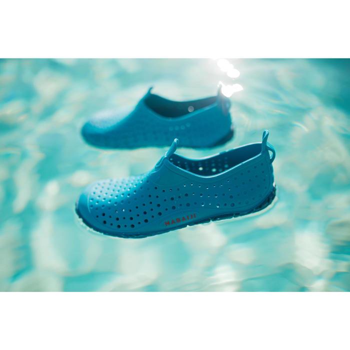 Waterschoenen voor zwembad jongens Aquadots 100 blauw