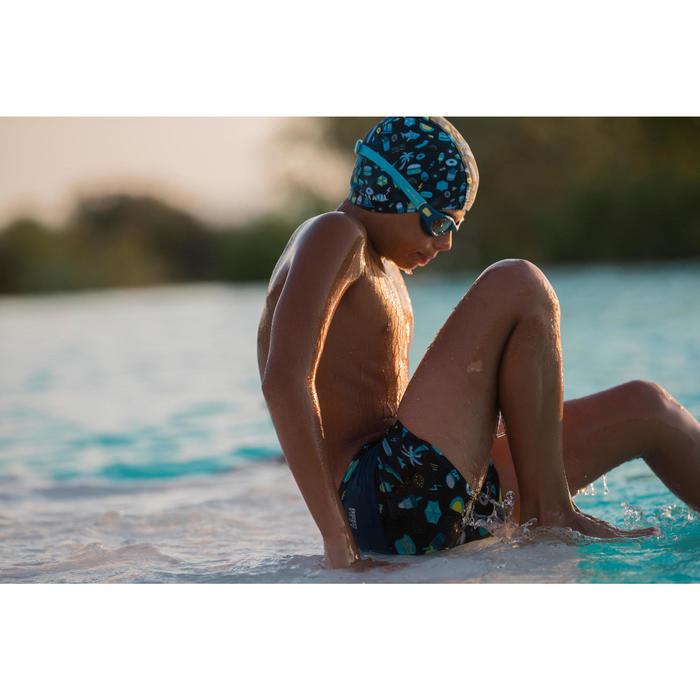 Zwemboxer voor jongens 100 Pool all playo zwart