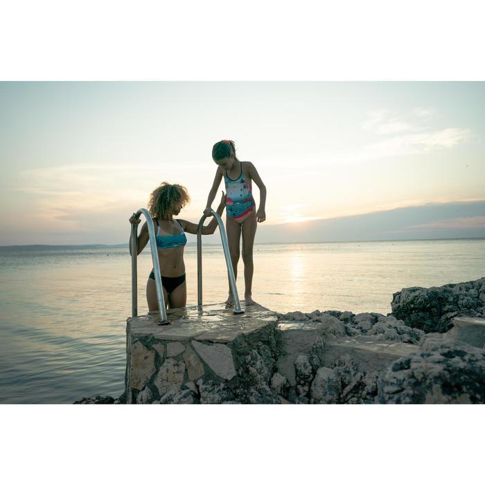 Haut de maillot de bain de natation femme Riana sunset bleu