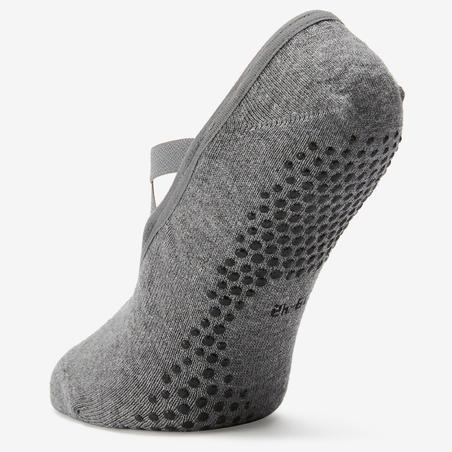 Non-Slip Pilates and Gentle Gym Ballet Sports Socks - Women