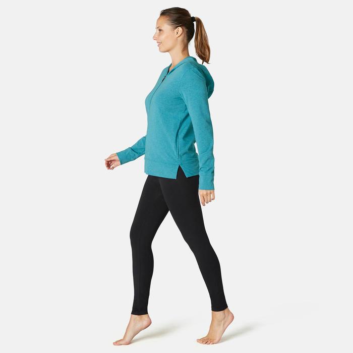 Veste à Capuche Training Femme 100 Vert