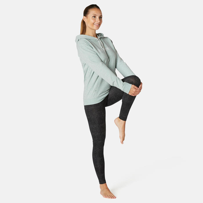 Sweat Training Femme 500 Vert Clair