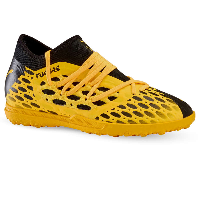 Turf Football - JR HG Future 5 3 SS20 - Yellow PUMA - Football Boots