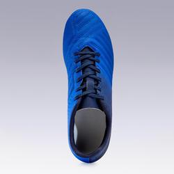 Chaussure de football adulte terrains secs Agility 140 FG adulte bleu