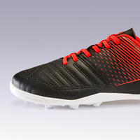 Agility 100 FG Hard Ground Soccer Cleats Black/Red