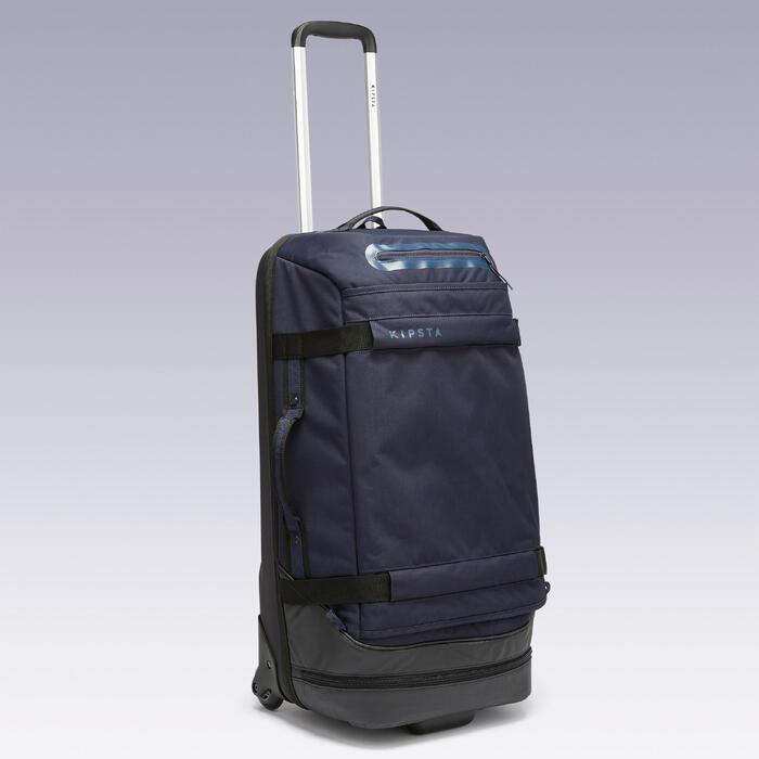 Bolsa ruedas trolley - maleta Intensif 65L azul noche