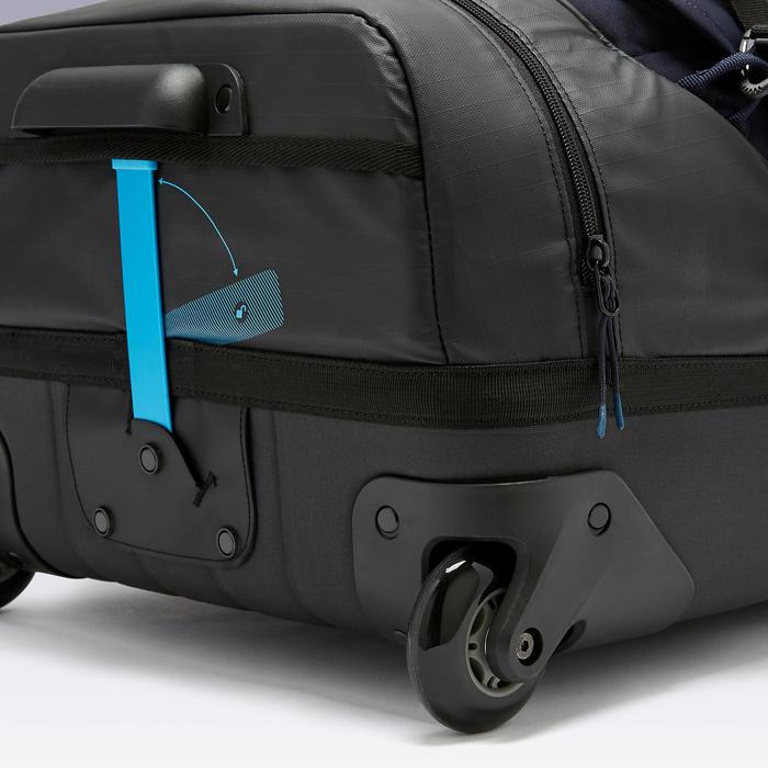 Tas op wieltjes trolley Intensif 65 liter nachtblauw