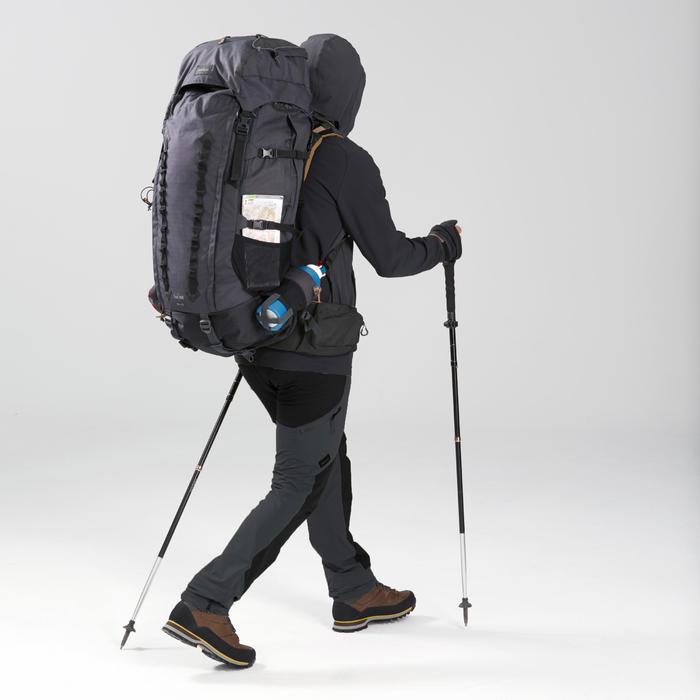 Gậy đi trekking siêu gọn nhẹ 1 - MT500 - Đen