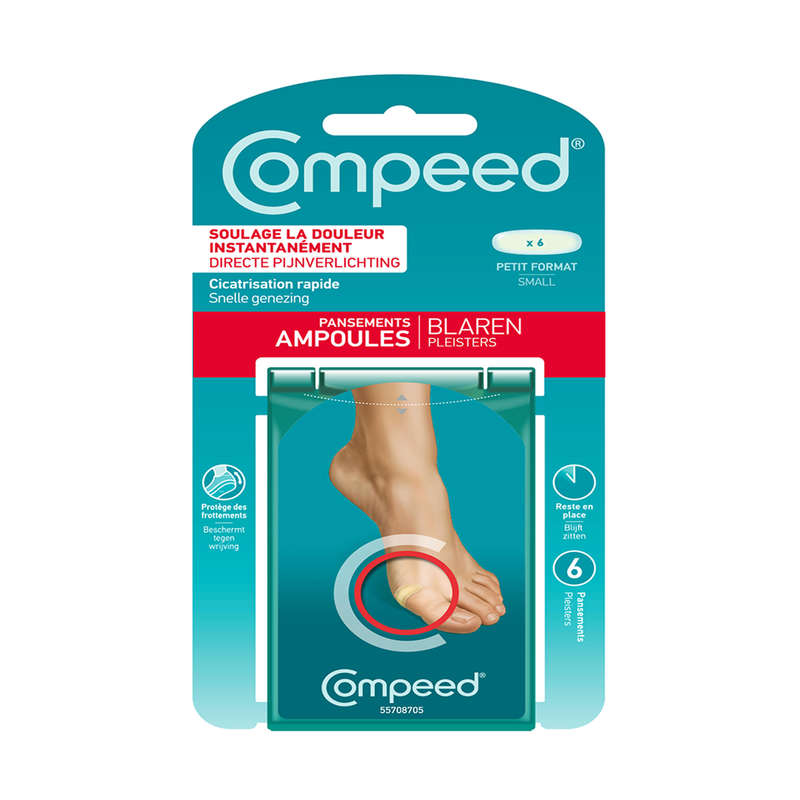 GAITERS, LACE, WATERPROOF, SHOES ACC. MT Trekking - COMPEED SMALL blisters COMPEED - Trekking