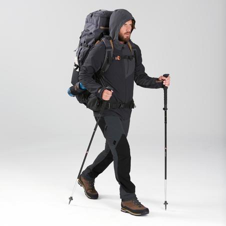 1 Ultracompact Tongkat Trekking MT500 - Hitam