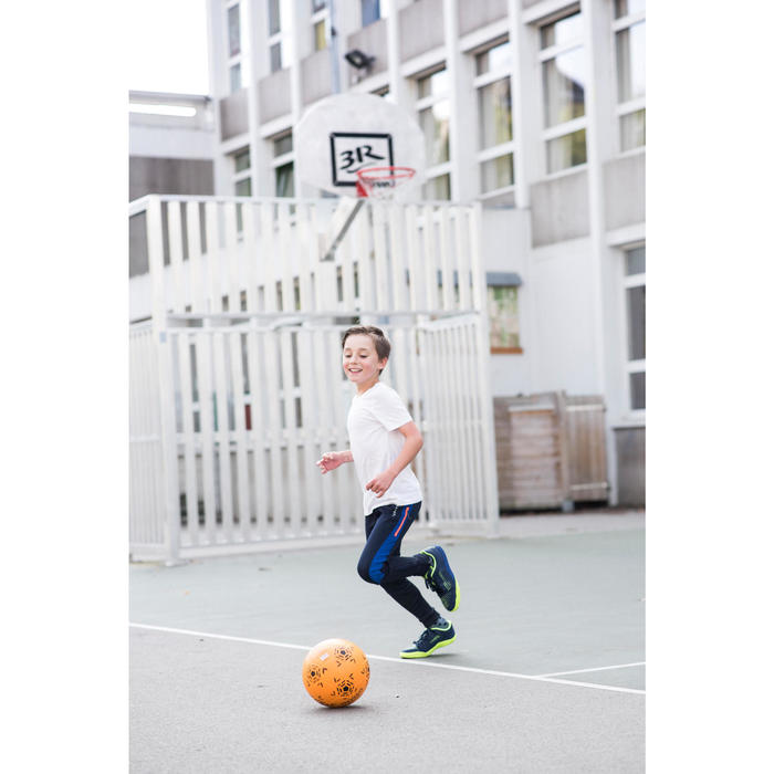 兒童款室內五人制足球鞋Ginka 500-深藍色