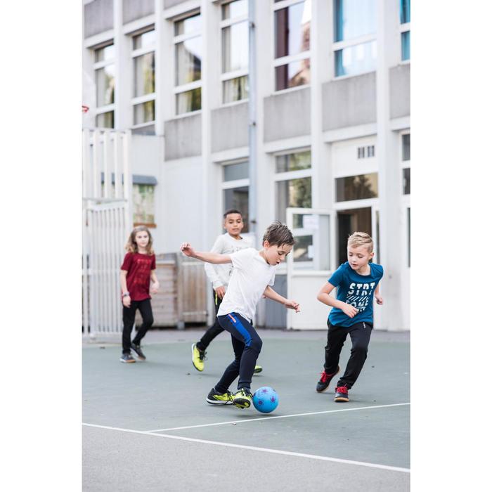 Mini ballon de Futsal mousse bleu violet