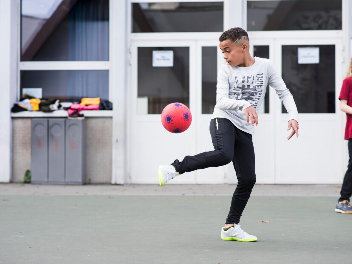 Football at home for children