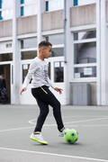 MÍČE NA FUTSAL PRO ZAČÁTEČNÍKY Fotbal - MÍČ PĚNOVÝ VEL. 3 ZELENÝ IMVISO - Fotbalové míče a branky