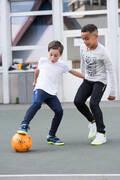 DĚTSKÁ FUTSALOVÁ OBUV Futsal - FUTSALOVÉ KOPAČKY GINKA 500  IMVISO - Futsal