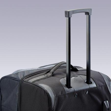 កាតាប 105L Bag Essential មានកង់ ពណ៌ខ្មៅ