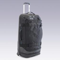 90 L滾輪式背包Intensive-黑色