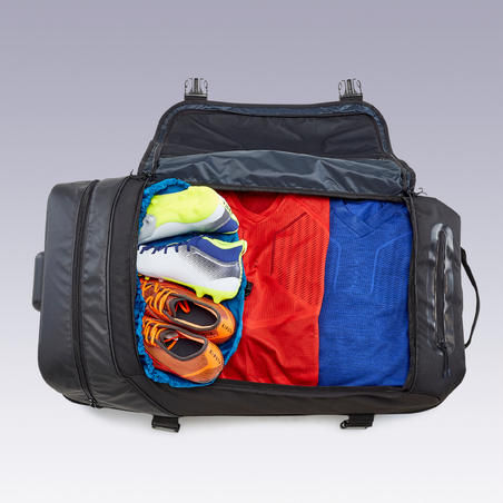 Sac à roulettes trolley - valise Intensif 90 litres noire
