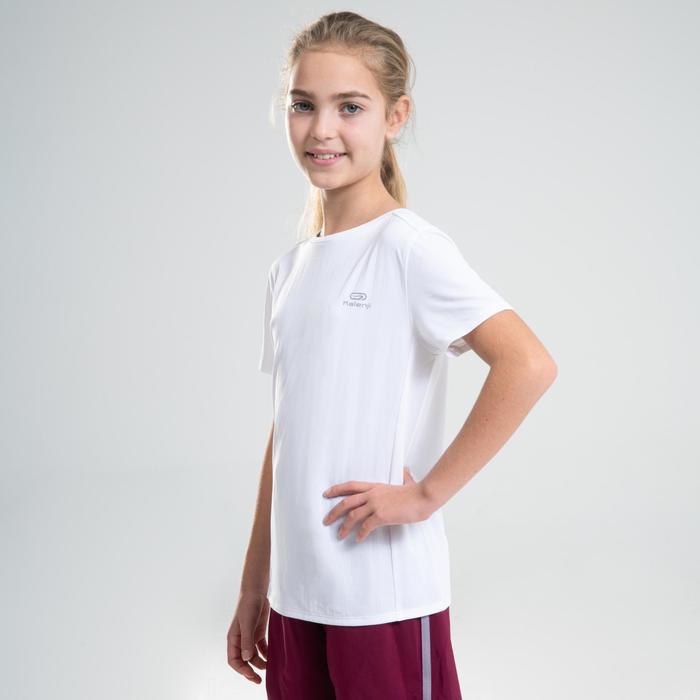 AT 100 kid's athletics T-shirt white