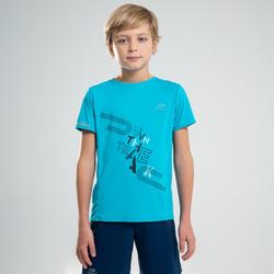 Tee shirt enfant d'athlétisme AT 300 turquoise