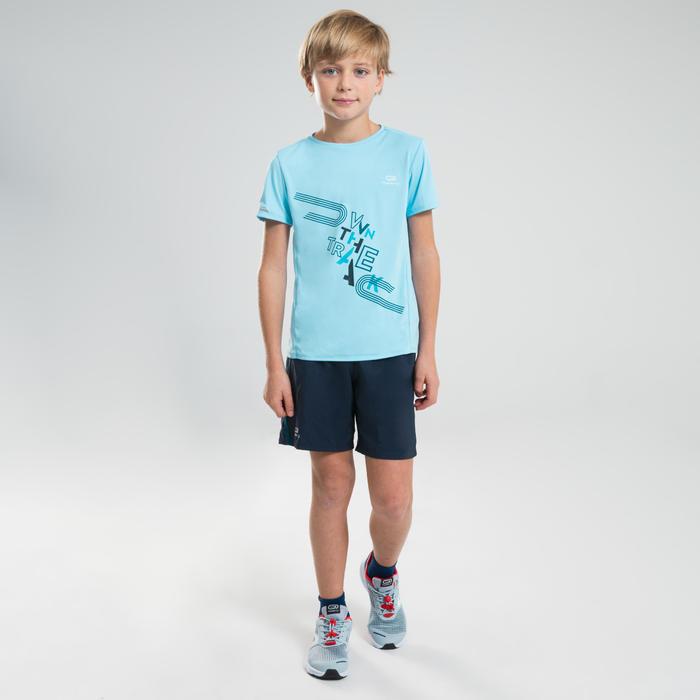 Quần short chạy bộ AT 100 cho trẻ em - Xanh navy