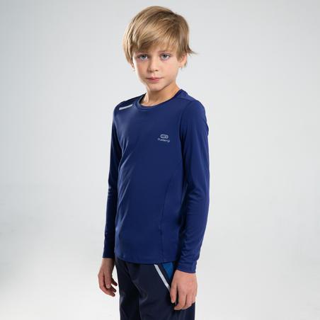 AT 100 UV PROTECT LONG-SLEEVED T-SHIRT - DARK BLUE