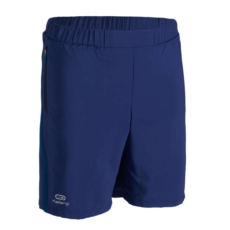 KIDS ATHLETICS CLOTHES ACCESS Clothing - AT 100 BAGGY SHORTS INK BLUE KALENJI - By Sport