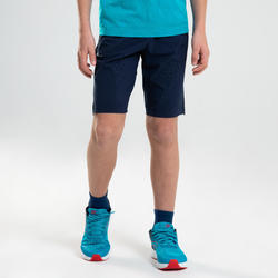 AT 500 BOYS' ATHLETICS SHORTS - BLUE