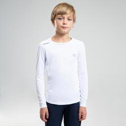 AT 100 UV PROTECT LONG-SLEEVED T-SHIRT - WHITE
