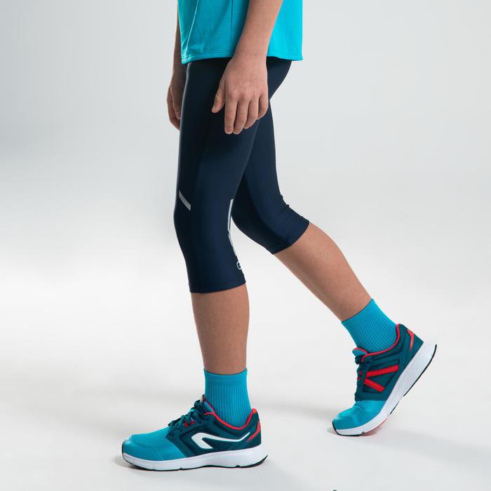 corsaire enfant d'athlétisme AT 100 bleu marine turquoise