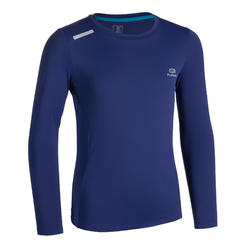 AT 100 UV PROTECT LONG-SLEEVED T-SHIRT - DARK BLUE