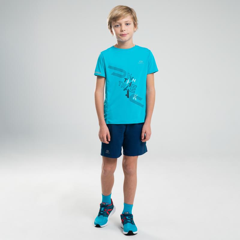 Short Holgado Júnior Atletismo AT 100 azul tinta