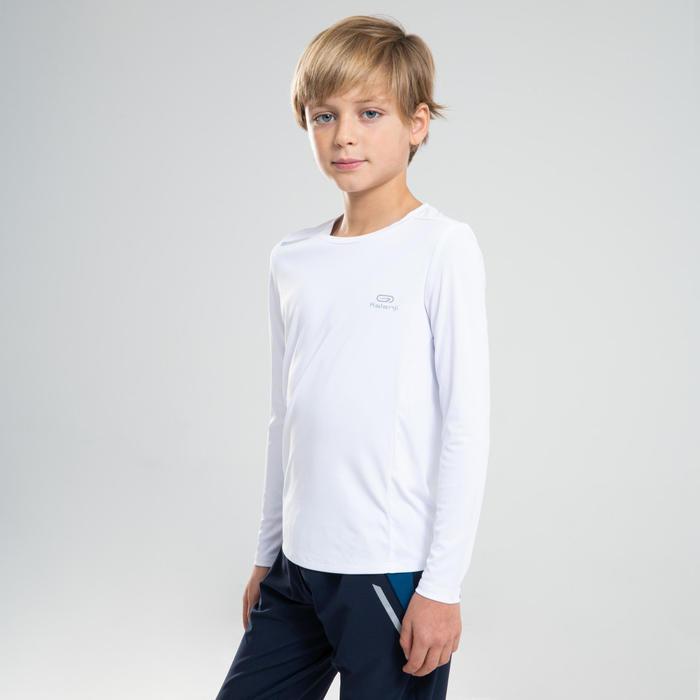 長袖防曬T恤AT 100-白色