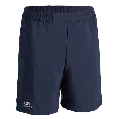 AT 100 KIDS' ATHLETICS BAGGY SHORTS - NAVY BLUE