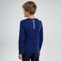 長袖防曬T恤AT 100-深藍色