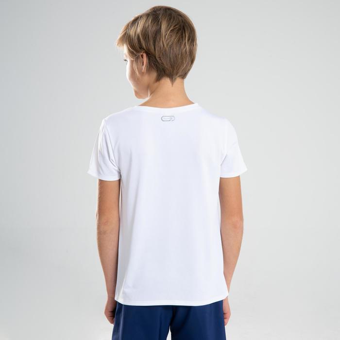 兒童款田徑T恤AT 100-白色